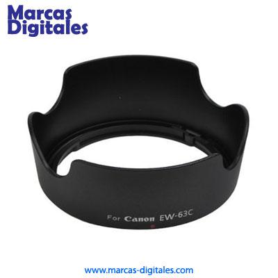 Parasol tipo Flor exclusivamente diseñado para el nuevo lente Canon 18-55mm  STM IS. 93a3c31bcb